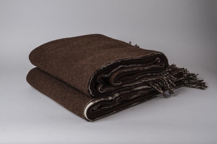 Wool Blanket Double Sided Saudade